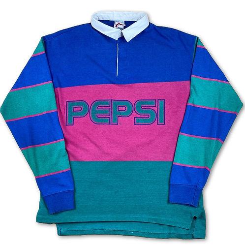 Vintage pepsi rugby shirt