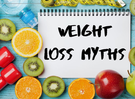 Five Weight Loss Myths