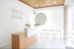 Interior de la clínica dental global