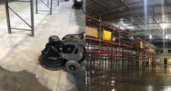 Concrete Grinding and Epoxy Coating