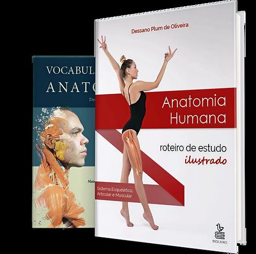 Anatomia Humana: roteiro de estudo ilustrado + Vocabulário de Anatomia