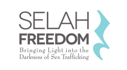 Selah Freedom Stacked Logo With Tagline.