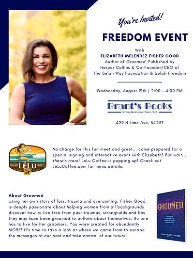 Freedom Event - Brant's Books & Lelu Cof