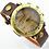 Thumbnail: 樂譜錶面皮革男士手錶