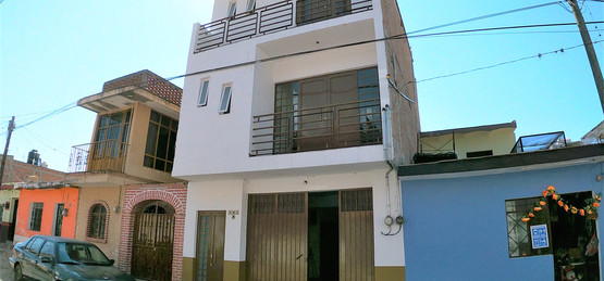 Outside view of Jose townhouse
