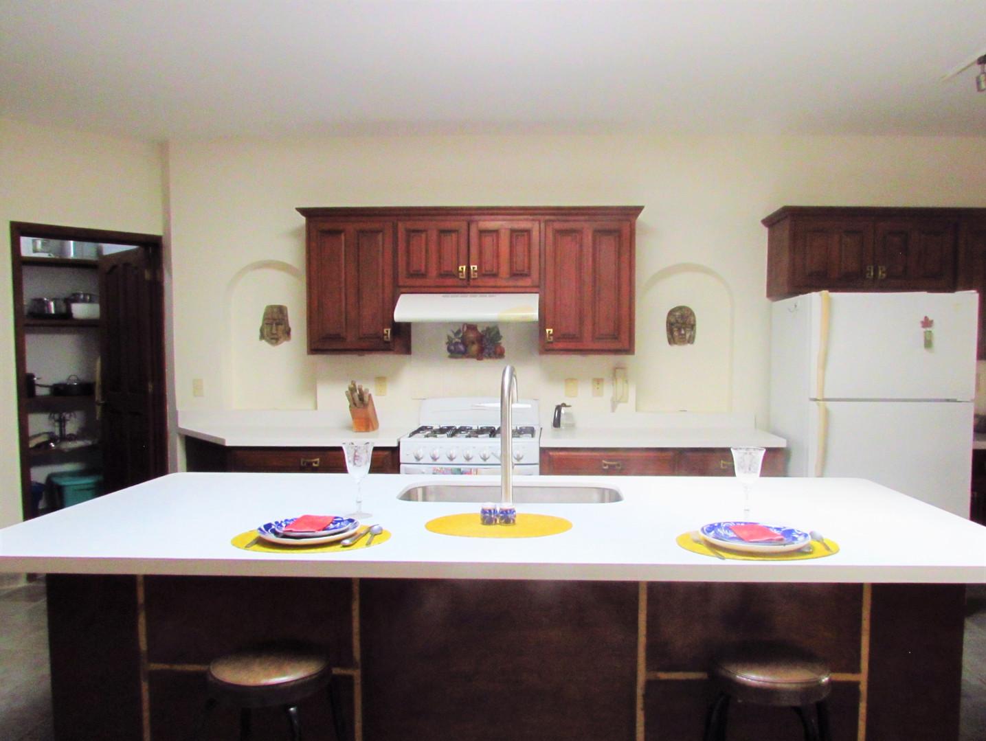 Main house- Island kitchen