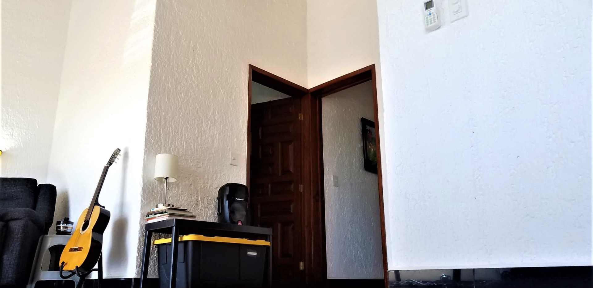 View to walk-in closet from entertainmen