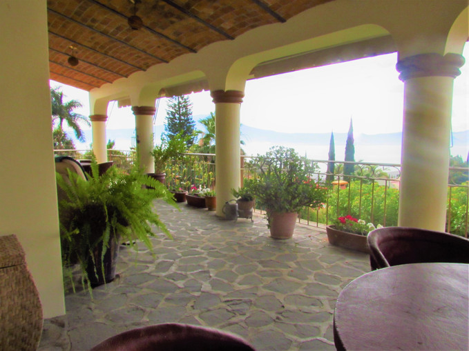 Main houseCovered terrace