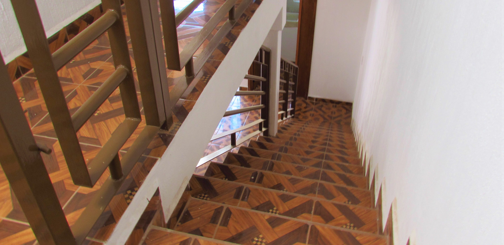 Stairs to the third floor