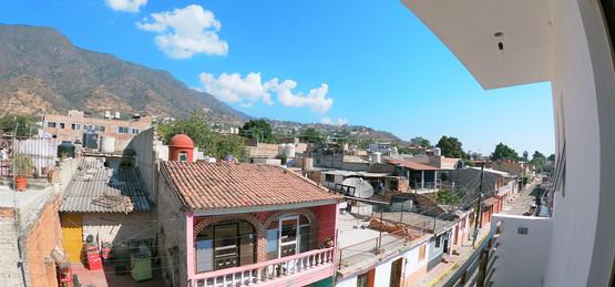 Main bedroom balcony views