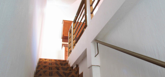 Main stairs to second floor