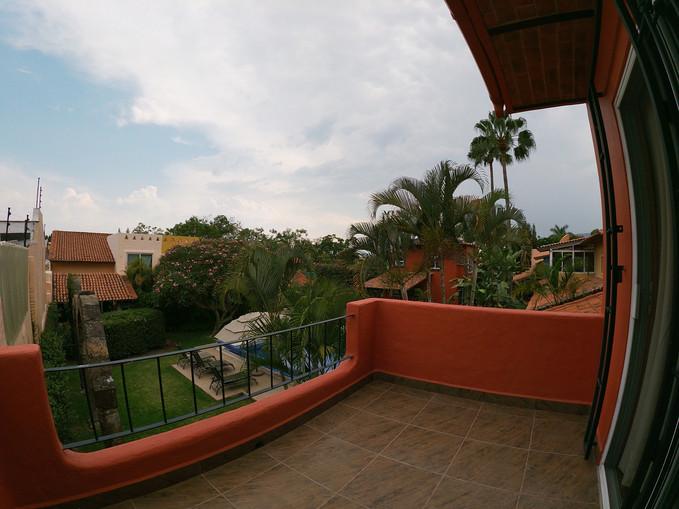 Master room balcony views