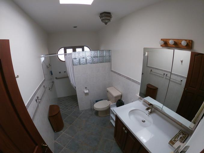 Main house- master bathroom