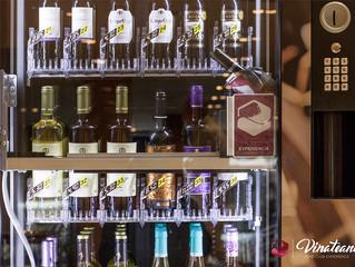 El vino en las máquinas de vending quiere ser tendencia