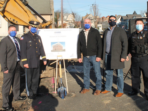 'Long Time Coming': Rutherford Breaks Ground at Site of New Police Department