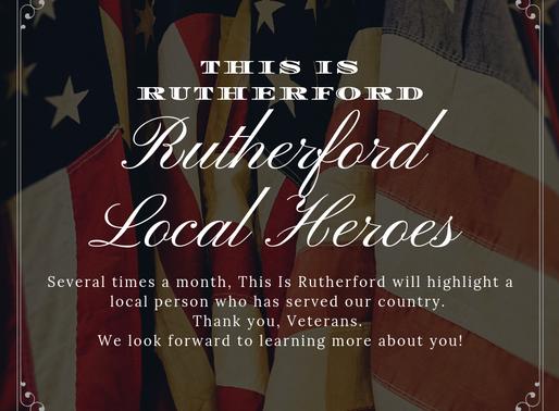 "Rutherford Local Heroes Features Herbert ""Bud"" Miller, Jr"