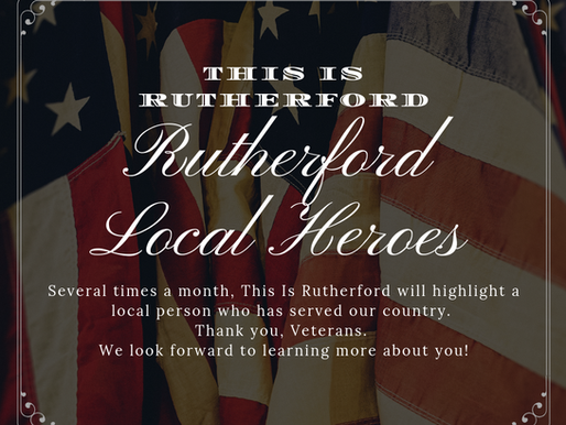 Rutherford Local Heroes Features Herbert Miller, MD