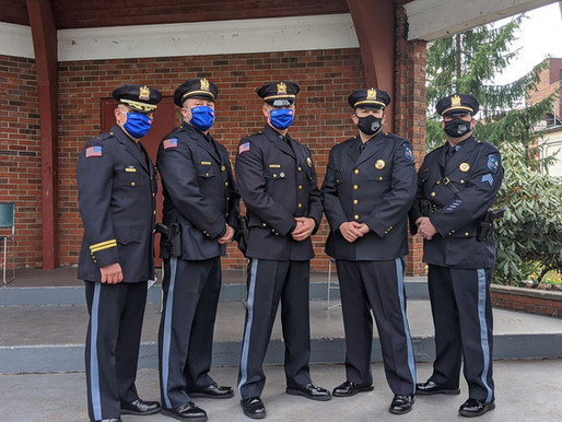 Rutherford Police Department Promotes Officers
