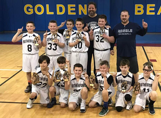 Congratulations to Undefeated 4th Graders!