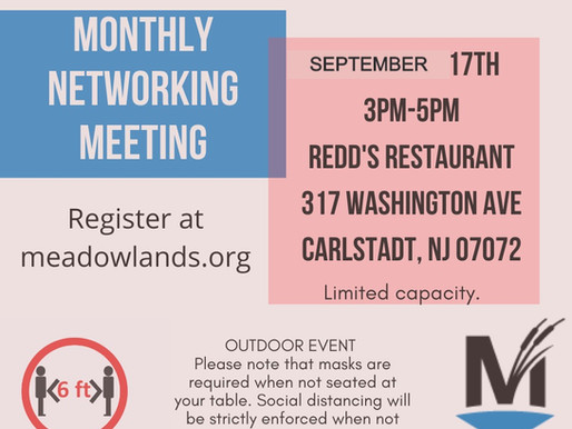 Meadowlands Chamber:  Monthly Networking Meeting