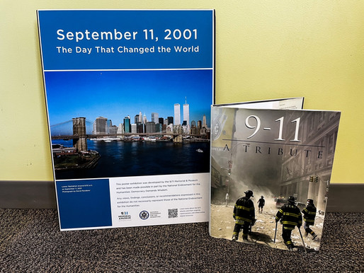 Rutherford Public Library Hosts September 11th Memorial Display