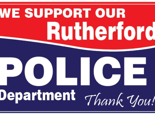 Police Sign Fundraiser