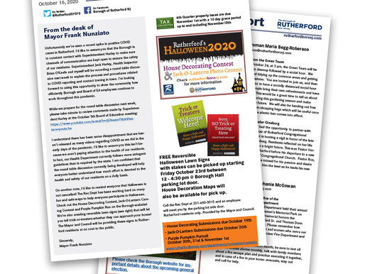 Mayor and Council Newsletters