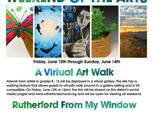 #RutherfordFromMyWindow - Art Show