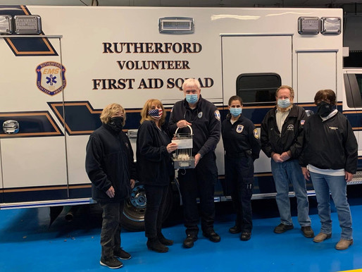 The Elks Club Assists the Rutherford First-Aid Ambulance Corps
