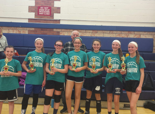 Rutherford Rec's Basketball Champions
