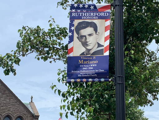 Military Banners on Park Avenue