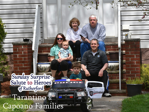 Rutherford's First Sunday Surprise Salute to Heroes