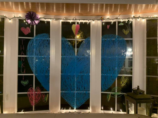 Blue Hearts and Blue Lights