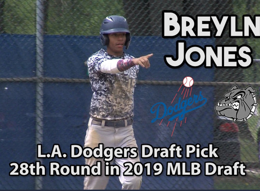 MLB Draft and RHS Graduate Breyln Jones