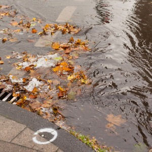 Clogged-sewer-blocks-rainwater-21711710-