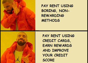 Earn rewards by paying house rent using credit cards