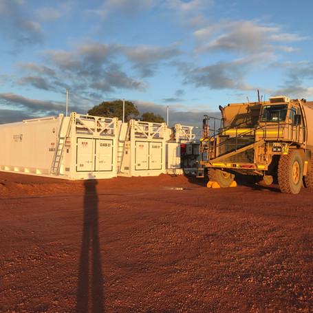 Bulk Diesel Storage Facility Minesite