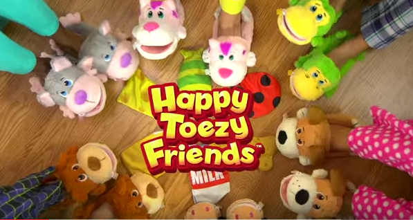 Happy Toezy's Slippers