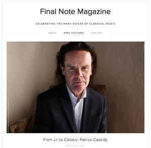Final Note Magazine Interview