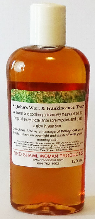 St. John's Wort and Frankincense Tears 120 ml