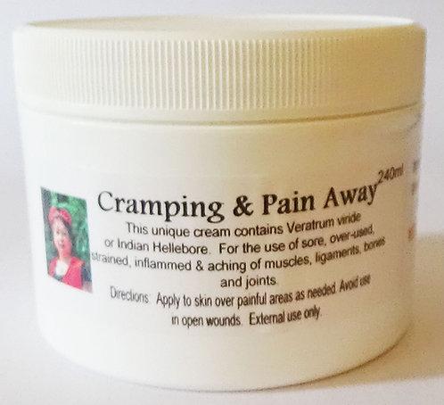 CRAMPING AND PAIN AWAY CREAM 240 ml