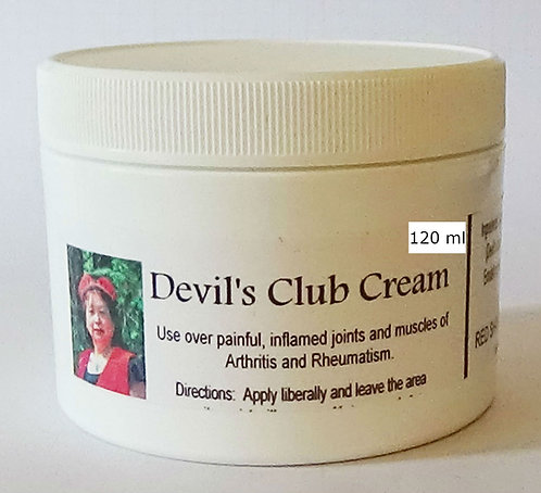 Devil's Club Cream 120 ml