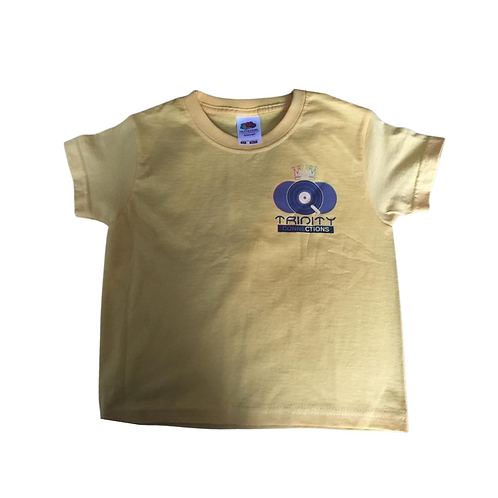 Yellow Children's Trinity Connections T-shirt