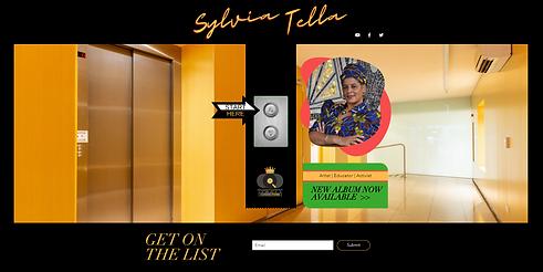 Sylvia Tella - Website Design