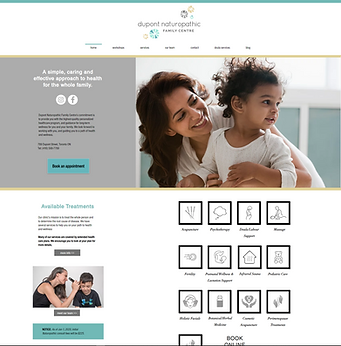 Home Page - Dupont Naturopathic Family C