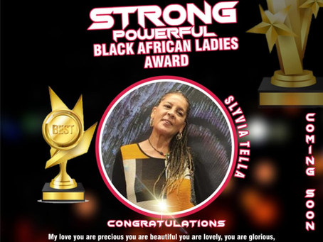 YES Africa TV strong powerful black African ladys awards coming up soon