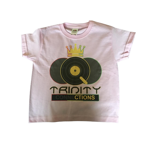 Pink Children's Trinity Connections T-shirt