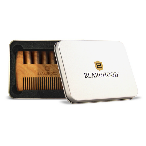 PREMIUM SANDALWOOD BEARD COMB