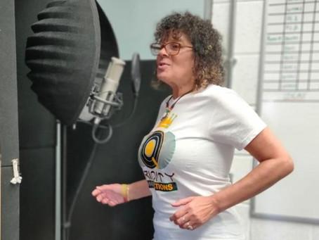 Sylvia Tella at Positive Vibrations Studios