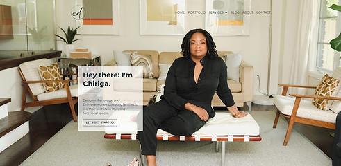 Chiriga Derrick - Website by Brand Sandw